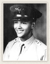 Bob Friend as a young Tuskegee Airman