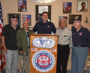 """The day I was privileged to meet (L-R) Arthur Johnson, """"Beamy"""" Beamesderfer, Angel Romero, and Bob Chisolm at Partida Hall in El Paso"""
