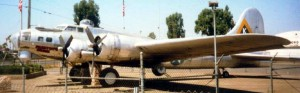 """Preston's Pride"" B-17 with 379th Bomb Group markings at Mefford Field in Tulare, CA"