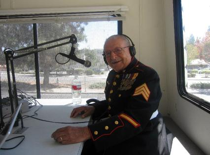 Peter Rondero during the live broadcast of Hometown Heroes on August 14, 2010