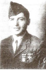 Peter Rondero as a young marine.
