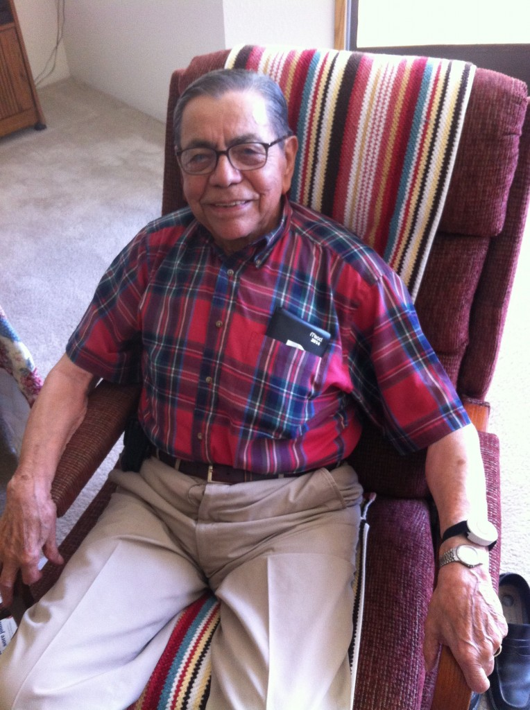 Augie Chavez at 96