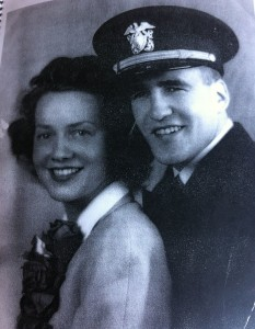 Gordon and Lenore Caldis as newlyweds.
