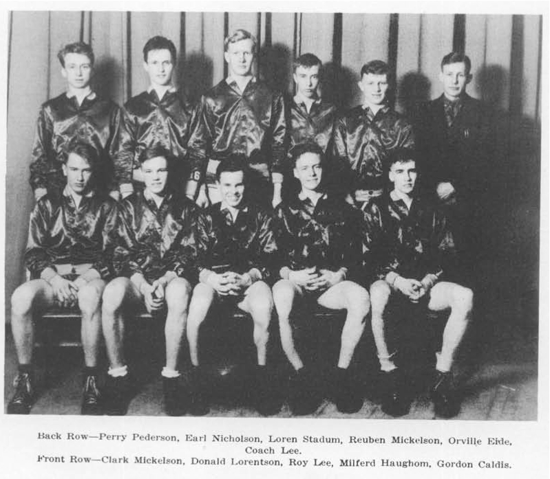 1938 Minnesota state champion Thief River Falls Prowlers
