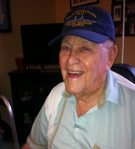94-year-old Pearl Harbor survivor Russel Winsett
