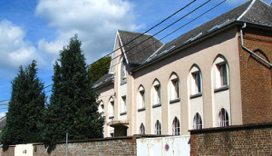 The Sisters of Notre Dame convent in Bastogne, Belgium is where Tom was cared for after being wounded.
