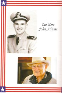 Then & Now photos from the program for the Visalia Veterans Committee's Keep the Spirit of '45 Alive event marking 70 years from the end of World War II.