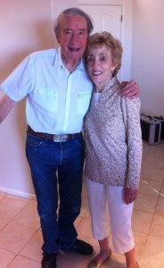 Jim and Pat Roach after 66 years of marriage.
