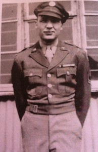 Fred Stevenson in the Army Air Corps.