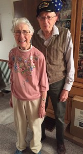 Zane and Beth Taylor after 68 years of marriage.