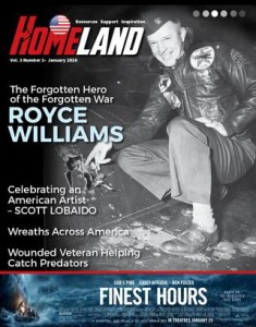 Check out Homeland Magazine's article on Royce.
