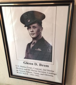 For more photos relating to Glenn and his story, visit the Hometown Heroes facebook page.