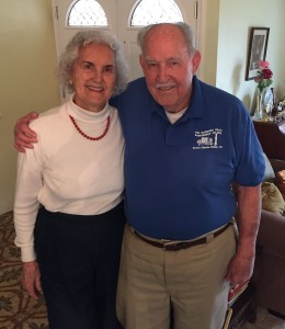 Jean and Cal Erickson after 68 years of marriage.