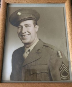 Ray Richey during World War II. For more photos, visit the Hometown Heroes facebook page.