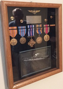 Walt Burr's decorations include the Distinguished Flying Cross. For more photos, visit the Hometown Heroes facebook page.