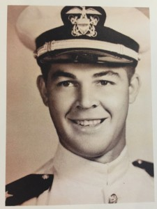 Mert as a young Navy officer. For more photos, visit the Hometown Heroes page on facebook.