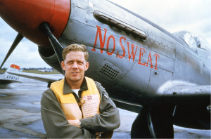 Robert Titus as an F-51 Mustang pilot. For more photos, visit the Hometown Heroes facebook page.
