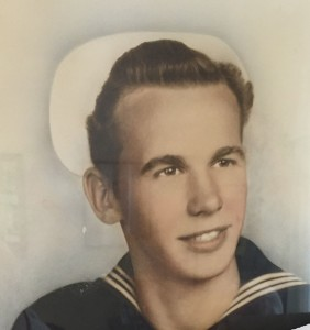 Francis Asbury joined the Navy in 1942. For more photos, visit the Hometown Heroes facebook page.
