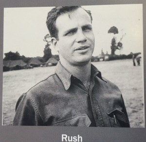 Ralph Rush during World War II. For more photos, visit the Hometown Heroes facebook page.